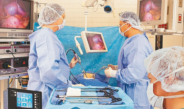 Лапароскопия кисты яичника цена этапы операции видео