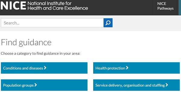 nice.org.uk - The National Institute for Health and Care Excellence (NICE)